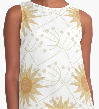 Natural romance. Contrast Tank