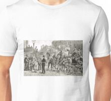 Victorian Style Congestion in London Unisex T-Shirt