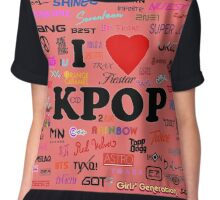 I <3 K-POP Chiffon Top