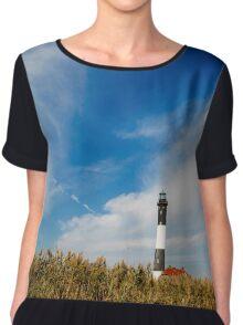 Fire Island Lighthouse Chiffon Top