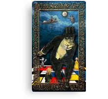 The Zeitgeist - from TINKER'S DAMN TAROT Canvas Print