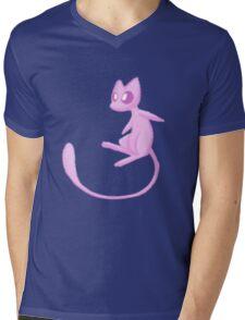 Mew! Mens V-Neck T-Shirt