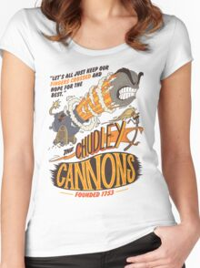 The Chudley Cannons Women's Fitted Scoop T-Shirt