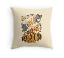 The Chudley Cannons Throw Pillow