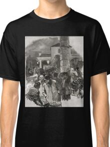 Covent Garden Market, London, England in the 19th Century Classic T-Shirt