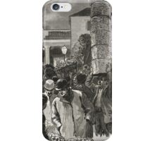 Covent Garden Market, London, England in the 19th Century iPhone Case/Skin