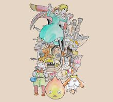 Studio Ghibli - Howl's Moving Castle Unisex T-Shirt