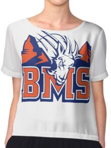 BMS BLUE MOUNTAIN Chiffon Top