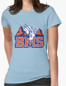 BMS BLUE MOUNTAIN Womens Fitted T-Shirt
