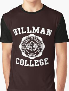 A DIFFERENT WORLD HILMAN COLLAGE  Graphic T-Shirt