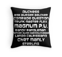 Sterling - Codenames Throw Pillow