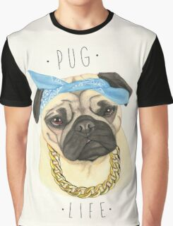 Pug Life Graphic T-Shirt