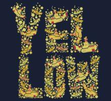 Yellow - the beatles Kids Tee