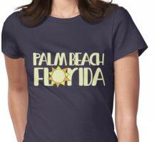Palm Beach Florida Womens Fitted T-Shirt