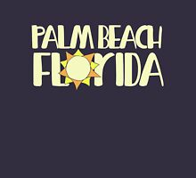 Palm Beach Florida Womens Fitted T-Shirt