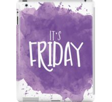 It's Friday iPad Case/Skin