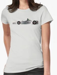 Juan Pablo Montoya (2016 Indy 500) Womens Fitted T-Shirt