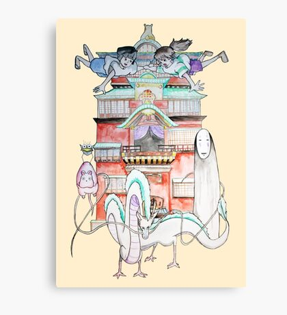 Studio Ghibli - Spirited Away Canvas Print