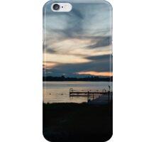 Sunset At The Lake iPhone Case/Skin
