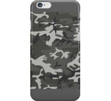 Cold War Grey Camouflage iPhone Case/Skin