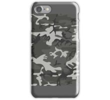 Cold War Grey Camouflage iPhone Case/Skin
