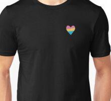 Pan Pride Heart Unisex T-Shirt