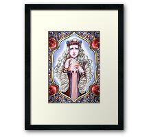 The Snow Maiden- Spring Framed Print