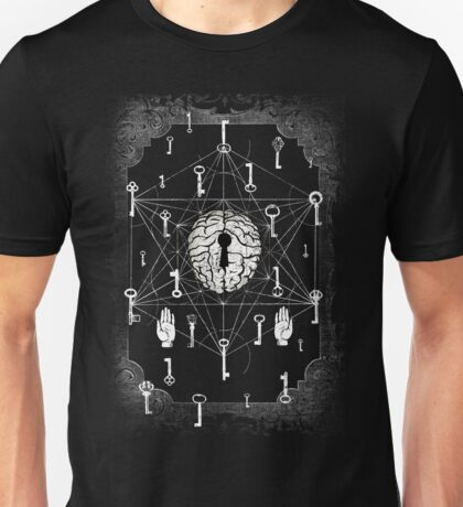 Keys to the subconscious mind #2 Unisex T-Shirt