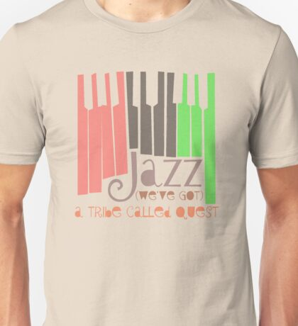a tribe called quest - jazz Unisex T-Shirt