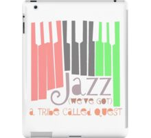 a tribe called quest - jazz iPad Case/Skin