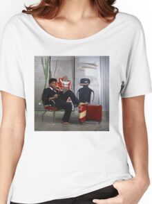 Jean-Michael Baquiat photograph  Women's Relaxed Fit T-Shirt