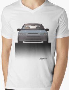 Modern Japanese Icons: Subaru Alcyone SVX (Split) Mens V-Neck T-Shirt