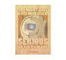 Portal Propaganda Poster - Wheatley Art Print