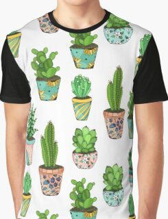 Green cactus Graphic T-Shirt