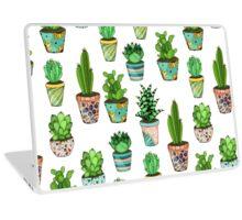 Green cactus Laptop Skin