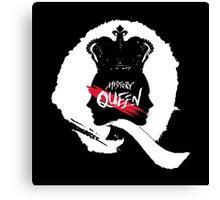 HISTORY -  'Queen' Logo Canvas Print