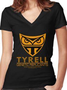 BLADE RUNNER - TYRELL CORPORATION Women's Fitted V-Neck T-Shirt
