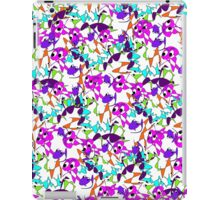 Funny Cute Abstract Colorful Doodle  iPad Case/Skin