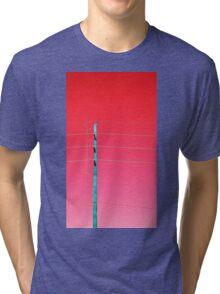 Telephone Pole (ViewsFromTheAether) Tri-blend T-Shirt
