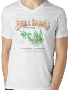 Skull Island Mens V-Neck T-Shirt