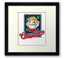 Caucasians Baseball Team Framed Print
