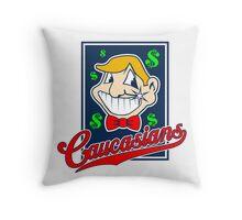 Caucasians Baseball Team Throw Pillow