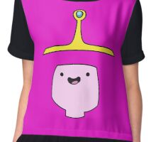 Princess Bubblegum Adventure Time Minimalist Face Chiffon Top