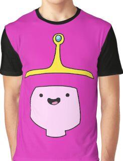Princess Bubblegum Adventure Time Minimalist Face Graphic T-Shirt