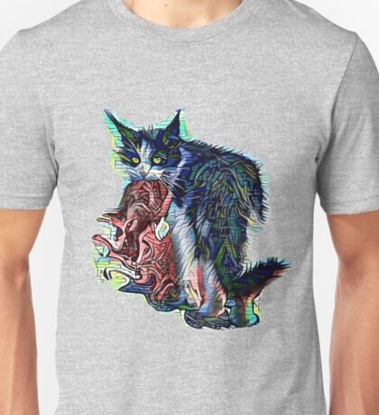 Cat and the Rabbit Unisex T-Shirt