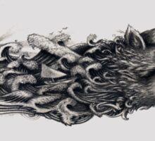 """"""" sea wolf """" Sticker"""