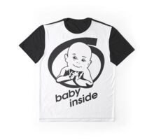 baby inside new family member will born Graphic T-Shirt