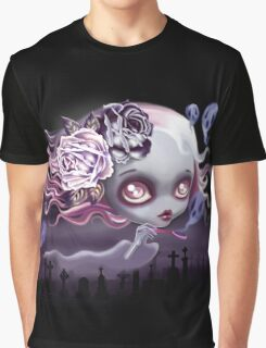 Ghostly Luna Graphic T-Shirt