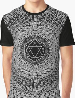 """Icosahedron"" Graphic T-Shirt"