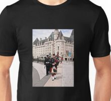 Bagpipes on Confederation Square - Ottawa, ON Canada Unisex T-Shirt